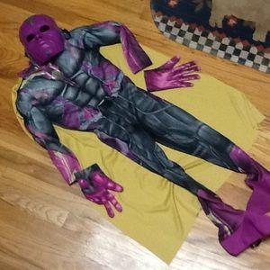 Boy's Vision (Avengers) Halloween Costume, VGUC